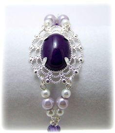 Medieval Bracelet  Medieval Jewelry  Jade & by TreasuresForAQueen, $22.00