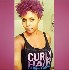 Love the color! #naturalhair #naturalcurls #kinkychicks