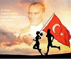 19 Mayıs Atatürk'ü Anma Gençlik ve Spor Bayramımız Kutlu Olsun! Ne Mutlu Türküm Diyene! #19mayıs #19may #19mayisataturk