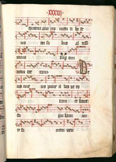 Missale, cum notis musicis et cum figuris literisque pictis Berthold Furtmeyr Clm 23032 [Regensburg], Ende 15. Jahrhundert Folio 36