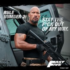 Don't make him get to rule #3 - Fast And Furious 6 #Movies
