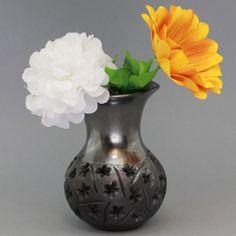 Black Clay Vase - Barro Negro