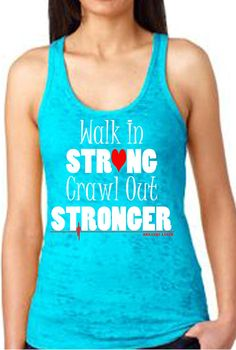 Strong Racer Back Tank Top- Crossfit Inspired on Etsy, $25.00