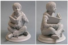 Bastian the neverending story sculpture by yotaro-sculpts