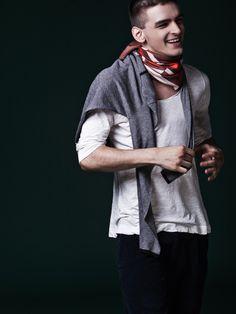 Samuele Visentin in The American by Cristina Capucci for Fashionisto Exclusive