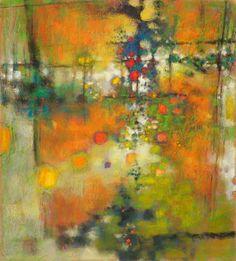 "Infinite Now | pastel on paper | 20 x 18"" | 2007"