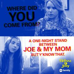 Well this is awkward... | Melissa & Joey Quotes