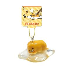 Gudetama Mascot Chain Kawaii SANRIO from JAPAN