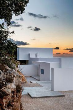 """The Silver House"" by Olivier Dwek overlooks the idyllic Greek island of Kefalonia"