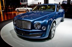 - Bentley Mulsanne by bindermichi My Dream Car, Dream Cars, Prestige Car, Bentley Mulsanne, Car Gadgets, Hot Rides, Metallic Blue, Hot Cars, Exotic Cars