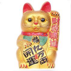 Feng shui prosperity cat.  http://wearluck.com/wear-balance/prosperity-shop/