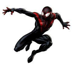 Miles Morales in Marvel: Avengers Alliance Marvel Avengers Alliance, Marvel Art, Marvel Dc Comics, Marvel Heroes, Hawkeye Marvel, Marvel Ultimate Alliance, Black Spiderman, Spiderman Art, Amazing Spiderman