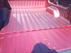 Custom Pink Metallic Bedliner