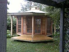 yurt wrap around porch!