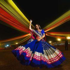 Indian Wedding Gowns, Indian Bridal Outfits, Indian Bridal Fashion, Indian Designer Outfits, Indian Dresses, Garba Dress, Navratri Dress, Lehnga Dress, Chaniya Choli Designer