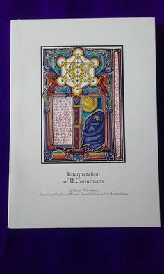 """Interpretation of I Corinthians""Poetical commentary of the Book of the Bible.75 pages / Color with illustrations by Mezmure Krestos and Semrete Selassie."