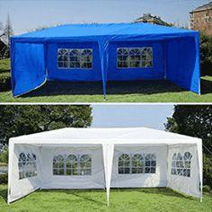 Generic w/ Side Gazebo Pavilion Pavilio Tent Patio tio Gaz Outdoor Canopy arty Te w/ Sidewalls - Wedding Canopy Hot Tub Gazebo, Patio Gazebo, Garden Gazebo, Pergola, White Gazebo, Canopy Outdoor, Canopy Tent, Outdoor Decor, Canopies