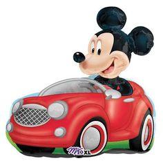 disney mickey mouse jumbo mylar birthday party balloon $5.15
