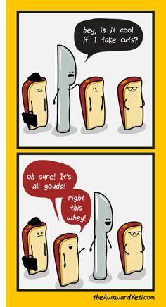 cheesy puns