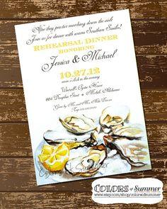 The Perfect Oyster Roast Invitation Aw Shucks Pinterest
