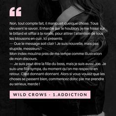 Wild crows Joe citation