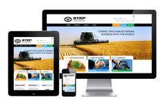 A new responsive website for STEP - the Saskatchewan Trade and Export Partnership. Web Design Projects, Responsive Web Design, Business, Business Illustration