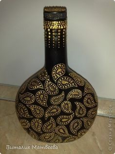 botellas de vidrio decoradas - Поиск в Google