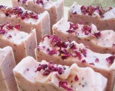 Olive oil Floral handmade soap