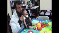 جلسة تنمية قدرات أسامة مدبولي لتدريبات الجلوس , متلازمة داون Down syndrome Down Syndrom, Toddler Bed, Child Bed