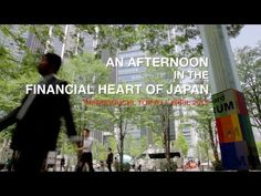 A spring afternoon in the financial heart of Japan -- Marunouchi, Chiyoda-ku, Tokyo.