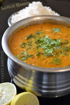 Soupe indienne tomate-citron