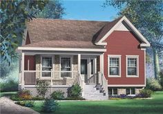 Main image for house plan # 12770