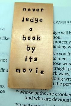 yeah - why do they have to make awful movies from awesome books?