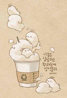 Starbucks molang cafe
