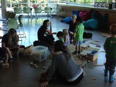 Preschool playgroup, Spring 2015