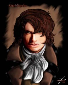 André Grandier no anime Rose of Versailles. *-* Possível filho do nosso querido Urbain.