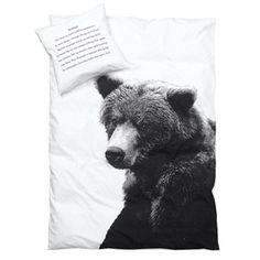 Junior sengetøj med bjørn
