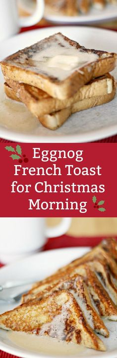 If you love seasonal flavors, this easy eggnog french toast recipe is perfect! Make it on a crisp fall morning or for the holidays, and add your favorite maple syrup. Double or triple for families!