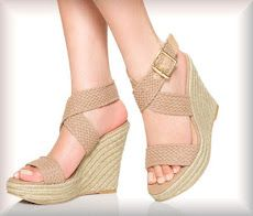 Nude wedges! :D   http://www.justfab.com/invite/4952333/