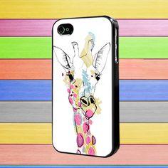 Giraffe Colorful iphone 4/4s case