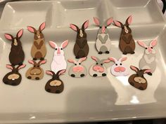 Marianne Design, Rabbit, Crafts, Van, Bunny, Rabbits, Manualidades, Bunnies, Handmade Crafts
