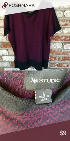 AB Studio Sweater Cotton/acrylic Sweaters
