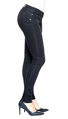 d4b93bbab4b Midnight Lift   Sculpt Jeans By Amia A202 at Amazon Women s Jeans store