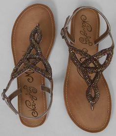Naughty Monkey Sheen Queen Sandal - Women's Shoes | Buckle