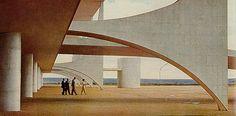 Oscar Niemeyer - Brasilia 2