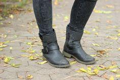 So cool und lässig mit JustFab Boots im Herbst und Winter. http://www.juliary.de/2014/10/male-and-female-outfit/