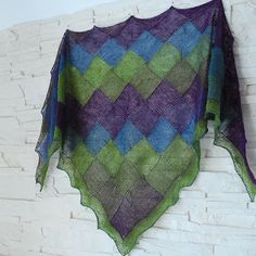 Hand made by Marsza: Entrelac i Candy
