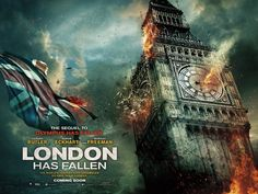 The timing for the trailer release of Gerard Butler action-thriller 'London Has Fallen' has been criticised and described as 'insensitive'. Gerard Butler, 2015 Movies, New Movies, Movies Online, Movies Free, New Movie Posters, New Poster, Action Film, Action Movies
