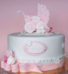 baby christening cake - Google Search
