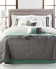 Bisset 7-Piece Comforter Sets - Bed in a Bag - Bed & Bath - Macy's